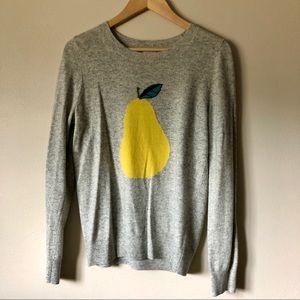 J. Crew Factory Pear Sweater S